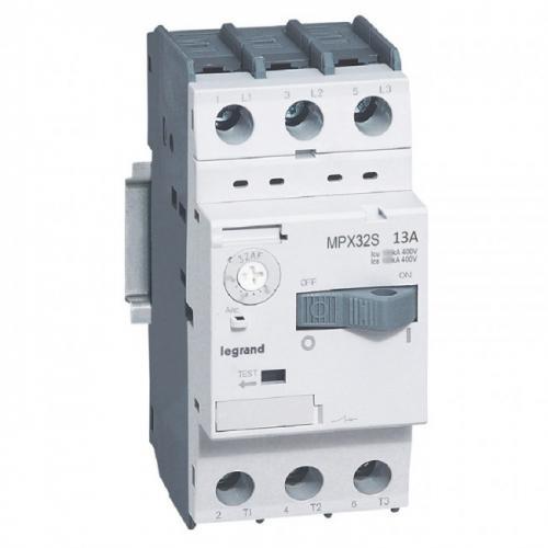 LEGRAND - Моторна защита 3P 9-13A тип MPX3 32S 417311