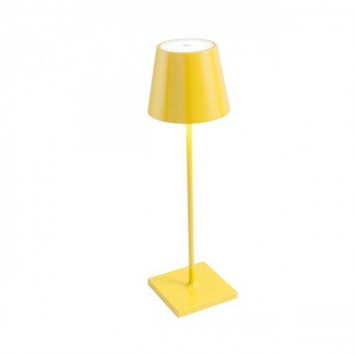 REDO GROUP - Настолна лампа, влагоустойчива GIORGIO 9175  VE LED SMD 2.2W IP54 USB YEL 3000K