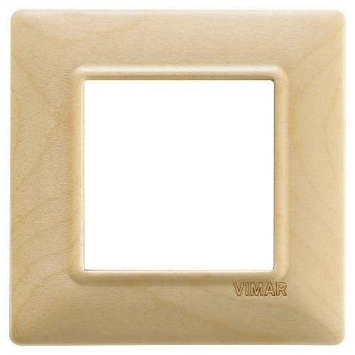VIMAR - 14642.61 - Plana Двумодулна рамка wood maple