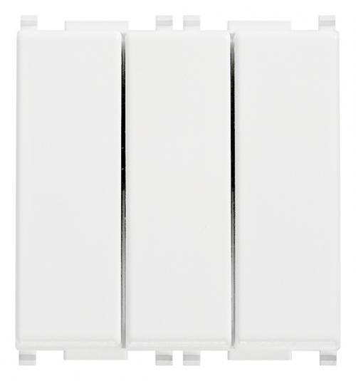 VIMAR - 14003 - Plana триполюсен ключ 1P 20A бял
