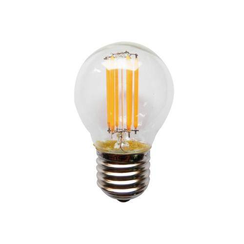 ACA LIGHTING - LED крушка топка FILAMENT E27 4W 6500K 410lm GLAMO4CW
