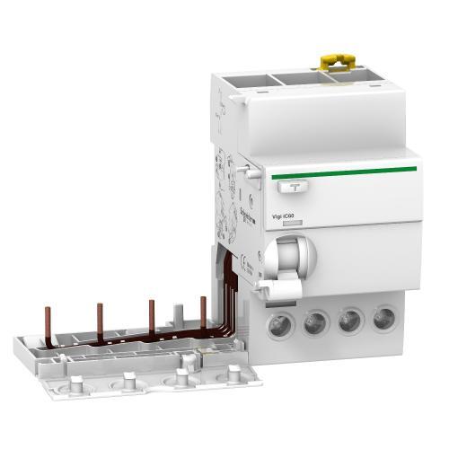 SCHNEIDER ELECTRIC - ДТЗ модул Acti 9 Vigi iC60 4P 25A 30mA тип AC 6kA 3 мод. A9V41425