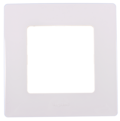 LEGRAND - Единична рамка NILOE 665001 бял