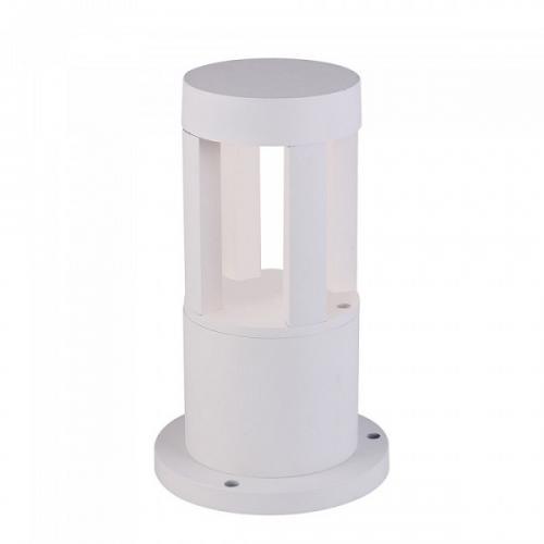 V-TAC - 10W Градинска Лампа Бяло Тяло 25см 4000К SKU: 8317, 3000К 8316, 5000К 8318 VT-830