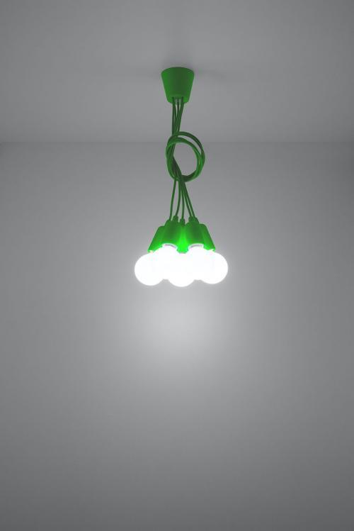 SOLLUX - Пендел  DIEGO 5 green  SL.0583