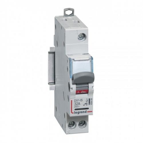 LEGRAND - Товаров прекъсвач със светлинна индикация /шалтер/ DX3-IS 32А 1P 406406