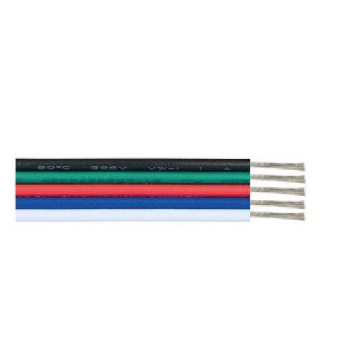 ACA LIGHTING - Кабел черен зелен червен син бял 17 x 0.12mm 5AWG22