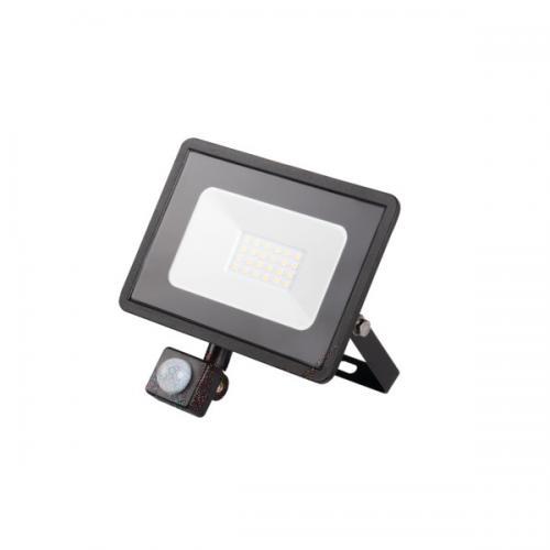 KANLUX - LED прожектор със сензор GRUN V2 LED-20-B-SE 20W 1500lm 4000K IP44 31155