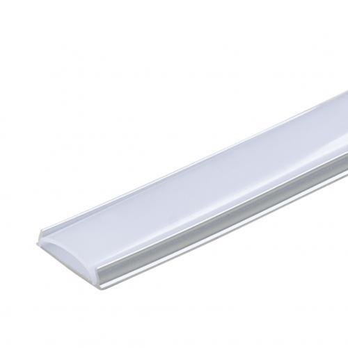 ULTRALUX - APN217 Алуминиев профил за LED лента, гъвкав, 2м