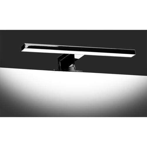 ULTRALUX - LOTM542 LED лампа за шкаф и огледало 5W 4200К, хром, IP44
