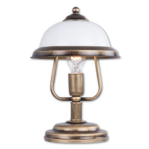 LIS LIGHTING - Настолна лампа ORION 0291B-H31 E27, 1x40W, H36, D25cm, месинг