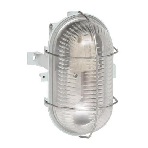LEGRAND - Влагозащитено осветително тяло с решетка 60W IP44 60414