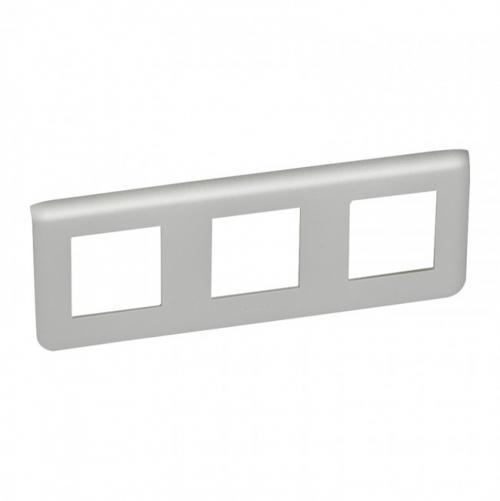 LEGRAND - 79306 Шестмодулна рамка 3х2 Mosaic алуминий