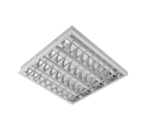 INTO - Recessed mounted luminaire fluorescent T8 4*18W
