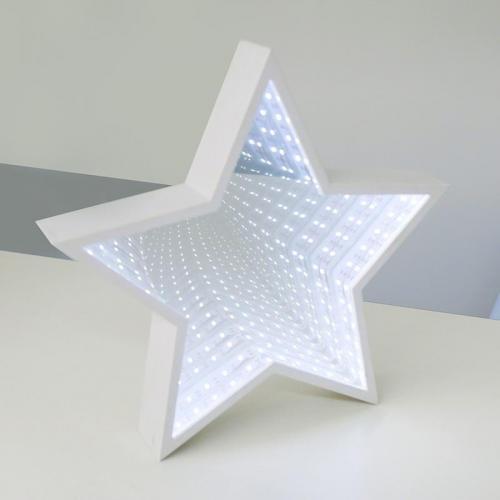 ACA LIGHTING - XSTARMIR292A LED декоративна лампа, студена бяла светлина, с батерии, 1.18W, вътрешна употреба IP20