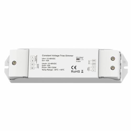 ULTRALUX - SDTD4815 Контролер с TRIAC, PUSH управление 180-720W, 15A, 12-48V DC