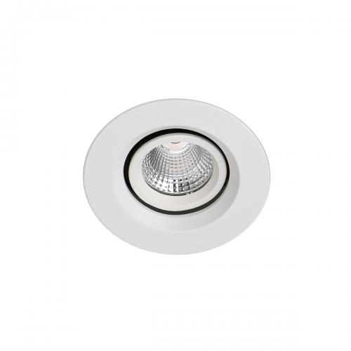 ITALUX - Влагозащитена LED луна за вграждане  Torres Adjust IP44 DA-401C/WK-WW/50