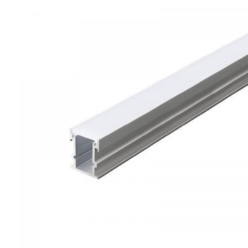 ACA LIGHTING - Алуминиев профил 2M за лед лента за вграждане с усилен дифузер с товароносимост 500kg AVAH P132