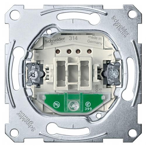 SCHNEIDER ELECTRIC - MTN3131-0000 Еднополюсен ключ с глим лампа механизъм 10A