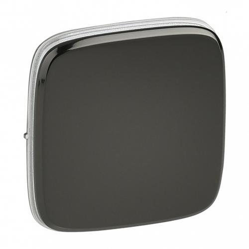 LEGRAND - 755113 Метален лицев панел за ключ/бутон Valena Allure тъмен никел