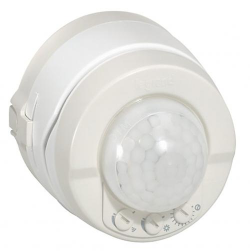 LEGRAND - 69780 Датчик за движение за открит монтаж / таван и стена / 360° IP55 бял