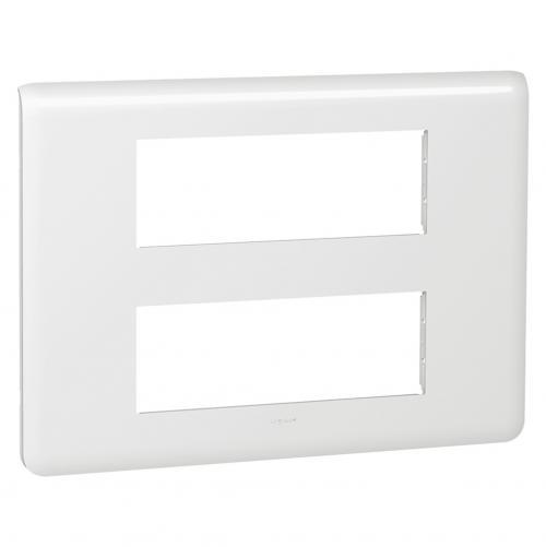 LEGRAND - 78836 2х Шестмодулна рамка 6х2 Mosaic бяло