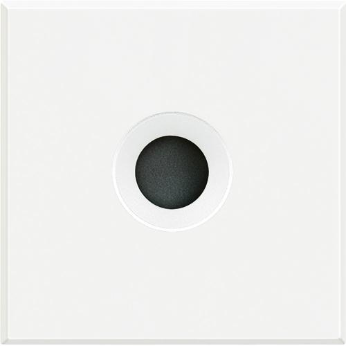 BTICINO - HD4954 Празен модул с отвор ф9мм  2модул Axolute бяло