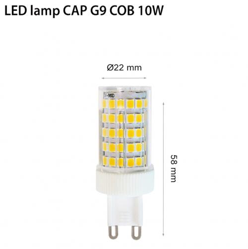 TNL - LED COB G9 10W 4000К 230V