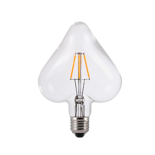 ACA LIGHTING - LED крушка димираща Сърце FILAMENT E27 6W 2700K 690lm HEART6WWDIM