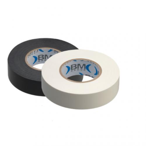BM GROUP - Комплект Изолационни ленти 10 броя цвят ЧЕРЕН + 10 броя цвят БЯЛ BM 10012