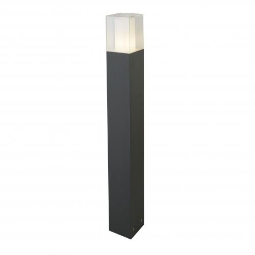 SEARCHLIGHT - 2582-900GY   Led Outdoor   Square Outdoor Post, 900cm, Dark Grey/white