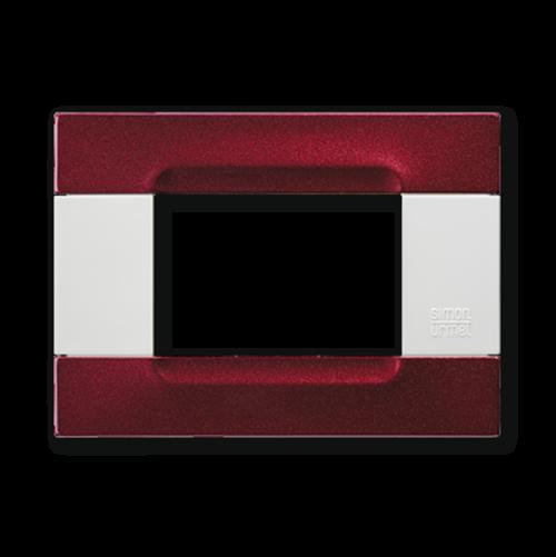 SIMON URMET - 10903.B.77 Metallized Bordeaux Polychrome Metal Finishes Kadra