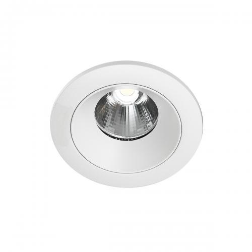 ITALUX - Влагозащитена LED луна за вграждане  Trento IP54 DG-068C 5000K WH