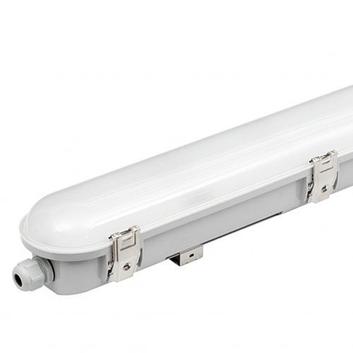ULTRALUX - LITH601850  LED Индустриално осв.тяло PC 220V, 0,60m, 18W, 5000K, IP66, неутрална светлина, SMD 2835