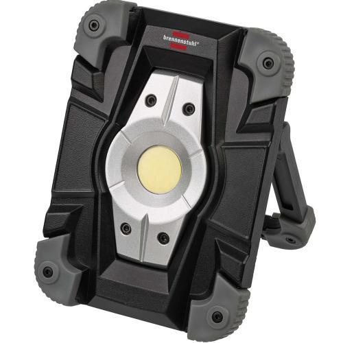 BRENNENSTUHL - Преносима работна лампа LED Spot, 10W, IP54, презареждаема, 1173080
