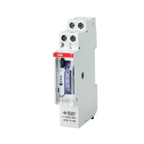 ABB - DIN Таймер AT1e-R 24h 16А 1NO 15 минути мин. интервал с резерв 100часа 1 модул 2CSM231215R0601