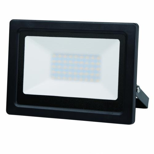 ULTRALUX - SPD5060 LED Slim прожектор 50W, 6000K, 220V, IP65 студена светлина, SMD2835