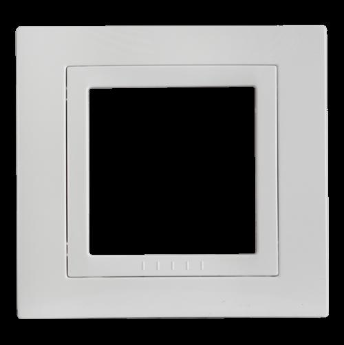SCHNEIDER ELECTRIC - MGU2.002.18 декоративна рамка Unica Basic единична бял