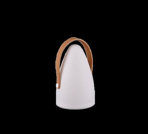 TRIO - Градински фенер  бял влагозащитен IP44 HAITI – R57090101