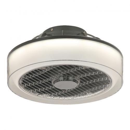 RABALUX - Таванен вентилатор с осветление и дистанционно DALFON LED 30W 3000-6000K 6857
