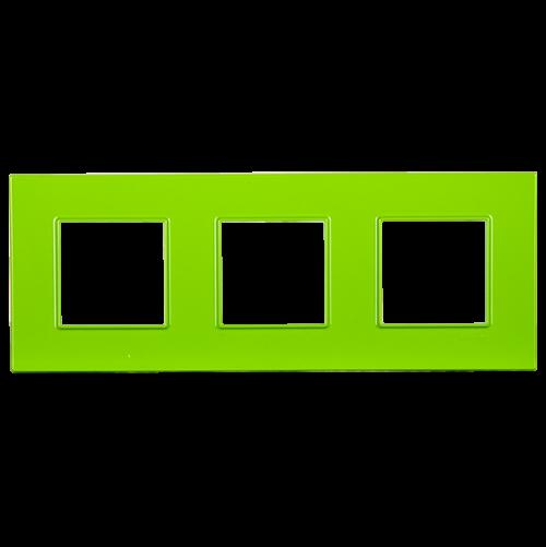 SCHNEIDER ELECTRIC - MGU4.706.28 декоративна рамка тройна био Unica Quadro