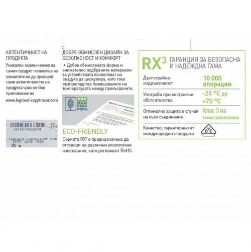 LEGRAND - ДТЗ 2Р 40А 30mА 6кА серия RX3 ID AC Legrand