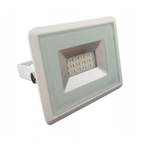 V-TAC -  10W LED Прожектор E-Series Бяло Тяло 3000K SKU: 5943 VT-4011 , 4500K-5944, 6000K-5945