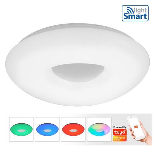 VIVALUX - Smart LED плафониера CLOUD LED - 36W – RGB - 3000-6400K  VIV004482