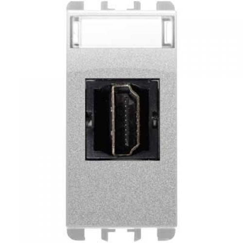 SIMON URMET - 10450.AC HDMI розетка алуминий