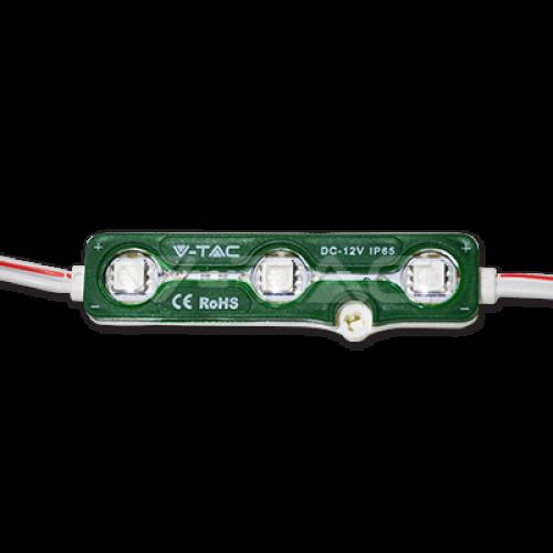 V-TAC - LED Модул 3LED SMD5050 Зелен IP65 SKU: 5119 VT-50503