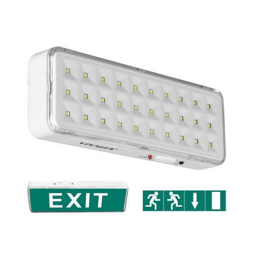 VIVALUX - Аварийно LED осветително тяло RACER LED-M 3W Li-Ion 3,7V  VIV004032
