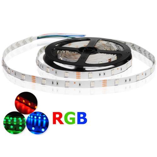 ULTRALUX - LNW505030RGB LED ЛЕНТА SMD5050, 7.2W/M, RGB, 12V DC, 30LEDS/M, 5M, НЕВОДОУСТОЙЧИВА