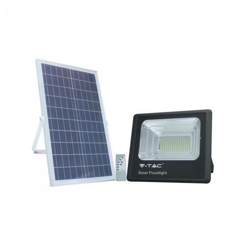 V-TAC - 35W LED Прожектор с Фотоволтаичен Панел 4000К SKU: 8576 VT-100W