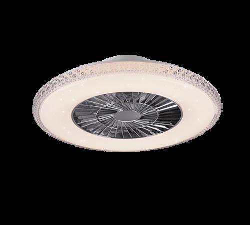 TRIO - Таванен вентилатор със осветление HARSTAD – R62412106
